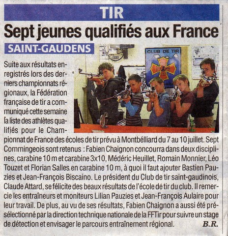 ArticleLaGazetteQualifiesFrance22062016p.jpg